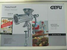 Gefu Fleischwolf Größe 5 Stahlguss Spritzgebäck Aufsatz Spritzgebäckvorsatz
