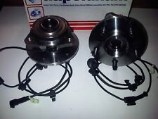 JEEP CHEROKEE KJ 2.5 2.8 CRD DIESEL 2001-2007 2x NEW FRONT WHEEL BEARINGS /HUB