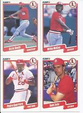 1990 Fleer St. Louis Cardinals Team Set