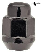 24pc 91-04 DODGE DAKOTA BLACK ACORN BULGE CUSTOM WHEEL LUG NUTS 1/2-20 # 1904BK