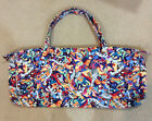 Large Quitled Fabric Tote-Purse-Beach Bag-Musicians Print Fabric