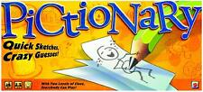 Pictionary Board Game, 2010 Yellow Edition, Mattel, New & Sealed, Gift Idea