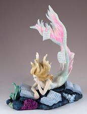 Lost Books By Tiffany Toland-Scott mermaid home decor statue figure collectible