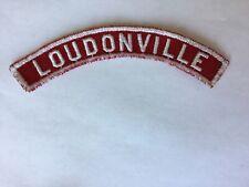 Loudonville RWS Red & White Community Strip