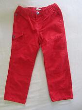 Pantalon rouge VertBaudet neuf 3 ans