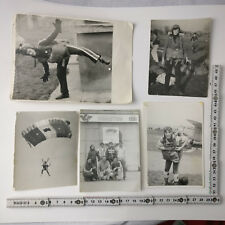 Old East Europe paratroopers young lady national championship romania 1980's