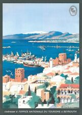 Lebanon for Bayreuth, 1900's, Classic Reproduction Vintage Travel Poster