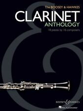 The Boosey & Hawkes Clarinet Anthology 18 Pieces by 16 Composers 048019635