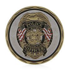 St Michael Police Officer Badge Patron Saint Commemorative Challenge Coins Art
