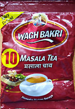 Wagh Bakri Spiced Masala Chai Black tea Indian Breakfast Spices CTC Blend 22g
