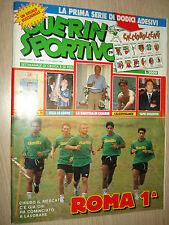 GUERIN SPORTIVO 1991 ANNO LXXIX N°29 (854) ROMA PRIMA 1°