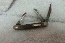 Vintage Schrade 3 Blade Old Timer Folding Knife