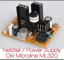 Fuente de alimentación impresora Oki Microline ml320 3r-p9-0038 Power Supply escáner plano ml 320 ok