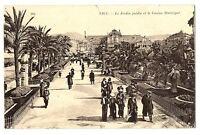 CPA 06 Alpes-Maritimes Nice Le Jardin Public et le Casino Municipal animé