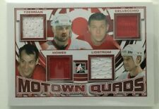 2012-13 ITG Motown Madness: Motown Quads Red - Steve Yzerman
