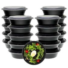 Freshware Meal Prep Containers [30 Pack] Bowls with Lids, Food Storage Bento Box