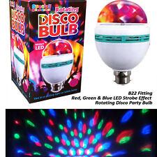 LED Disco Party Light Rays Colour Birthday Celebration Strobe Red Green Blue