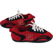 NEW Nebraska Cornhuskers All Around Sneaker Slippers by Comfy Feet - Small