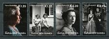 Papua New Guinea 2015 MNH Queen Elizabeth II Longest Reigning 4v Set Stamps