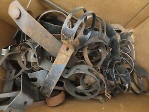 NOS Misc Early Ford V-8 hot air heater clamps lot No Reserve