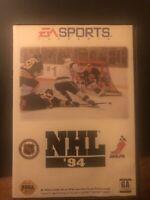 NHL '94 (Sega Genesis, 1993) No Manual