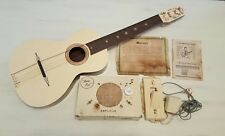 Rare Vintage Music Pal Guitar Acoustic Pickup and Battery PoweredAmp  ShipWWide