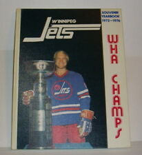 Vintage Winnipeg  Jets WHA Souvenir Yearbook 1972-76 Bobby Hull  Near Mint + !!