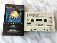 Def Leppard Pyromania Cassette Tape 1983 Mercury/Polygram US PRESS VERY RARE!
