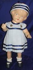 GL112 Antique Vtg Patsy Composition Doll