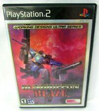 GunGriffon Blaze Playstation 2  complete original case booklet