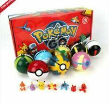 Pokèmon Ball 12PCS Set Pokeball GO Actionfiguren Kinder Kindergeschenk Spielzeug