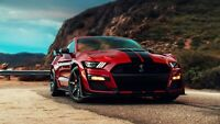 2020 Ford Mustang Shelby GT500 Auto Car Art Silk Wall Poster Print 24x36""