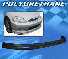 FOR HONDA CIVIC 99-00 T-M STYLE FRONT BUMPER LIP BODY KIT POLYURETHANE PU
