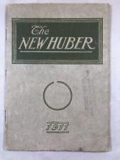 1911 HUBER CATALOG Steam ENGINES Farm THRESHERS Machinery Advertising ANTIQUE