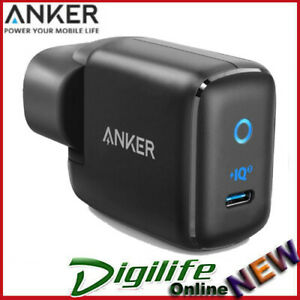 Anker PowerPort Mini III Wall USB-C Charger - Black 30W Power IQ 3.0 Charger