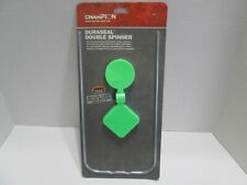 """Champion DuraSeal Double Spinner 7"""" 42910 Radiation Green Shooting Target."""