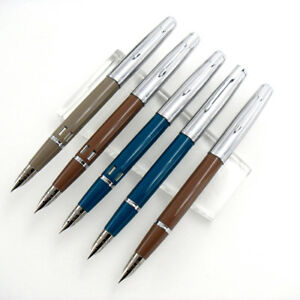 Wing Sung 601A Vacumatic Fountain Pen, Updated Version, Piston Type, Silver Cap
