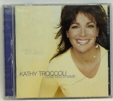 Love Has a Name by Kathy Troccoli (CD, Oct-2000, 2 Discs, Reunion)