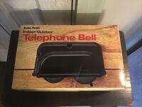 NOS Radio Shack 43-174 Indoor Outdoor Telephone Bell Weather Resistant Vintage