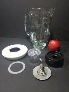 OSTER 6PC GLASS BLENDER JAR REPLACEMENT SET