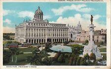B81773 zayas park president  s house  havana cuba front/back image