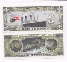 Titanic Novelty   , One Million Dollar Bill