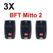 LOT 3X TÉLÉCOMMANDE BFT Mitto 2