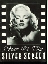 MARILYN MONROE-STARS OF SILVER SCREEN-#9607-WITH CIGARETTE-- POSTCARD(205*)