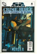 DC UNIVERSE 52 CRIME BIBLE 4!