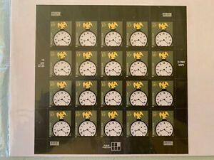 US Stamps SC# 3157 American Clock 10c sheet of 20 MNH 2003-14