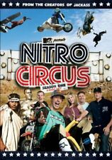 Nitro Circus Season One DVD 2-Disc Set 283 Mins TRAVIS PASTRANA JOHNNY KNOXVILLE
