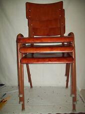 Alter Stuhl Stapelstuhl Gartenstuhl Palisander Chair Loft Design 1/3 Nr. 3
