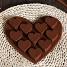 Heart Shaped Silicone Molds Fondant Chocolate Cake Durable Mold for the Kitchen