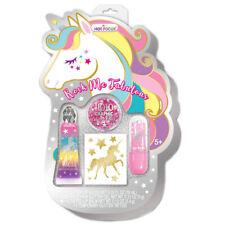 Unicorn Rock Me Fabulous Set For Kids Cosmetic Girls Kit Lip Gloss,Glitter +